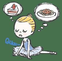 Happy Ballerina sticker #6043935