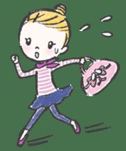 Happy Ballerina sticker #6043937
