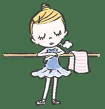 Happy Ballerina sticker #6043939