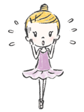 Happy Ballerina sticker #6043940