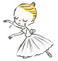 Happy Ballerina sticker #6043945
