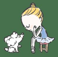Happy Ballerina sticker #6043946