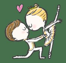 Happy Ballerina sticker #6043948