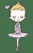 Happy Ballerina sticker #6043950