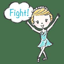 Happy Ballerina sticker #6043957