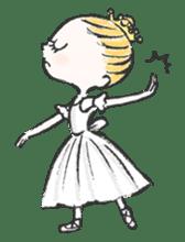 Happy Ballerina sticker #6043958
