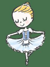 Happy Ballerina sticker #6043959