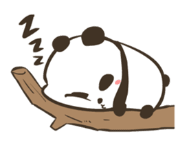 Babe Panda sticker #6046002