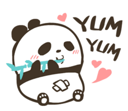 Babe Panda sticker #6046004