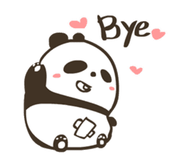 Babe Panda sticker #6046007