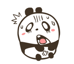 Babe Panda sticker #6046008