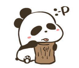 Babe Panda sticker #6046011