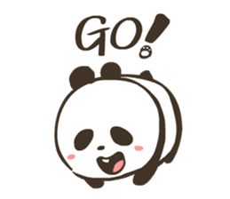 Babe Panda sticker #6046013