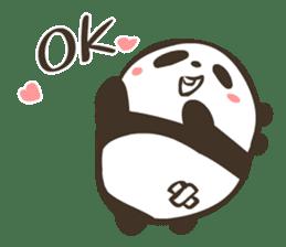 Babe Panda sticker #6046015