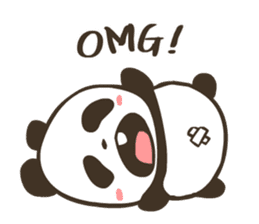 Babe Panda sticker #6046020