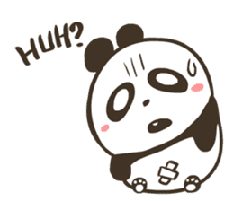 Babe Panda sticker #6046023