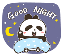 Babe Panda sticker #6046024