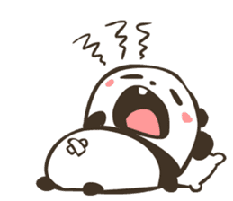 Babe Panda sticker #6046028