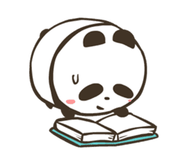 Babe Panda sticker #6046030