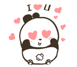 Babe Panda sticker #6046032