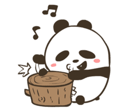 Babe Panda sticker #6046036