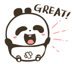 Babe Panda sticker #6046037
