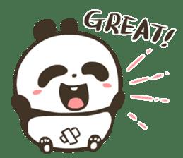 Babe Panda sticker #6046037