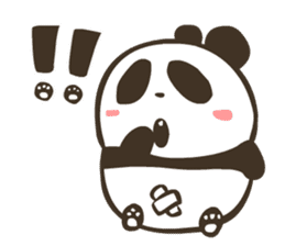 Babe Panda sticker #6046038
