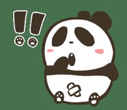 Babe Panda sticker #6046038