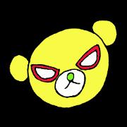 สติ๊กเกอร์ไลน์ Mask bears