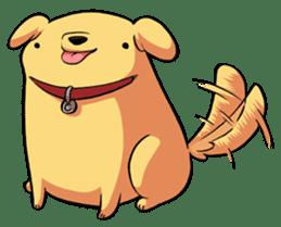Chubby Golden sticker #6052481