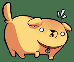 Chubby Golden sticker #6052482
