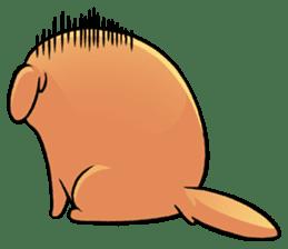 Chubby Golden sticker #6052485