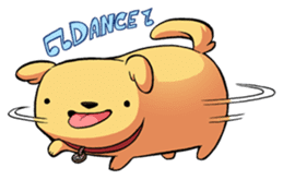 Chubby Golden sticker #6052488