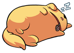 Chubby Golden sticker #6052489