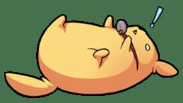 Chubby Golden sticker #6052490