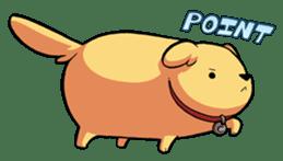 Chubby Golden sticker #6052492