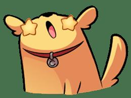 Chubby Golden sticker #6052493