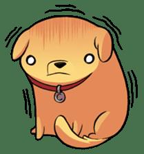 Chubby Golden sticker #6052496