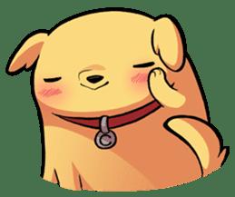 Chubby Golden sticker #6052497