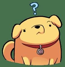Chubby Golden sticker #6052498