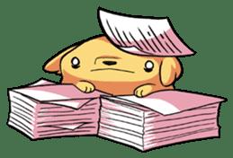 Chubby Golden sticker #6052502