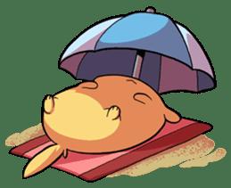 Chubby Golden sticker #6052505