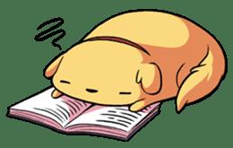 Chubby Golden sticker #6052509