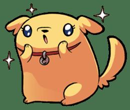 Chubby Golden sticker #6052512