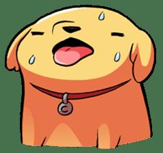 Chubby Golden sticker #6052514