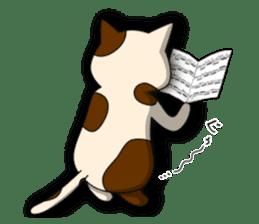 Cello cat Anton sticker #6058723