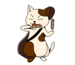 Cello cat Anton sticker #6058727
