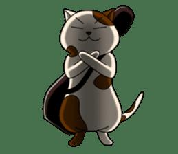 Cello cat Anton sticker #6058753