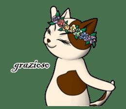 Cello cat Anton sticker #6058757